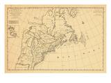 1700, Canada, United States Giclee Print