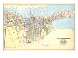 1911, New Bedford, Massachusetts, United States Giclee Print