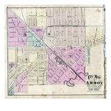 1872, Amboy, Illinois, United States Giclee Print