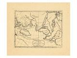 1754, California, Canada, Asia Giclee Print
