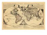1705, World Giclee Print
