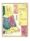 1869, Putnam, Pomfret Street, Pomfret Landing, Connecticut, United States Giclee Print
