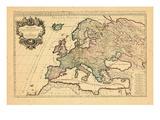 1706, Europe, Italy Giclee Print