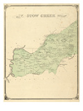 1876, Stow Creek Township, New Jersey, United States Giclee Print