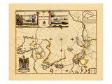 1680, North Pole, World Giclee Print
