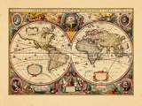 1633, World Giclee Print