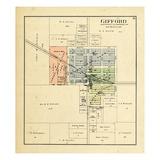 1893, Gifford, Illinois, United States Giclee Print