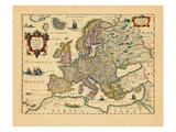 1633, Europe Giclee Print