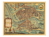 1580, Brightstowe, United Kingdom Giclee Print