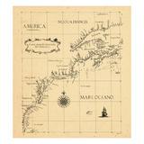 1646, New Brunswick, Newfoundland and Labrador, Nova Scotia, Ontario, Prince Edward Island, Quebec Giclee Print