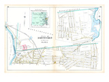 1895, Pages 116 and 117 - Pawtucket City, Rhode Island, United States Giclee Print