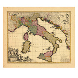 1698, Italy Giclee Print