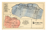 1878, Prince George County - District 10 - Laurel, District of Columbia, United States Giclee Print