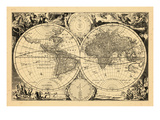 1680, World Giclee Print