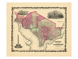 1862, Washington DC Giclee Print