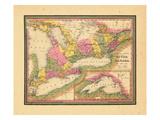1846, Ontario, Quebec, Canada Giclee Print