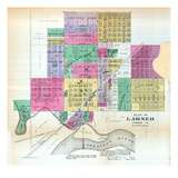 1887, Larned, Kansas, United States Giclee Print
