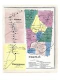 1869, Chaplin, Chaplin Town, Phoenixville - Eastford, Connecticut, United States Giclee Print