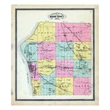 1904, Mason County, Michigan, United States Giclee Print