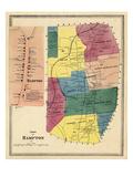 1869, Hampton Town, Hampton, Connecticut, United States Giclee Print