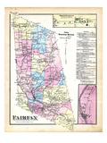 1871, Fairfax, Fairfax Town North, Fairfax Town Falls, Vermont, United States Giclee Print