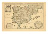 1692, Portugal, Spain Giclee Print