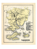 1871, Yarmouth, Maine, United States Giclee Print