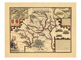 1611, Hartford Shire, United Kingdom Giclee Print