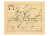 1748, World Giclee Print