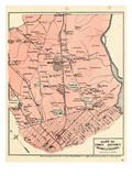 1878, District of Columbia, District 1, Montello, Ivy City, Rosedale, District of Columbia Giclee Print