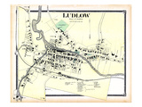 1869, Ludlow Town, Vermont, United States Giclee Print