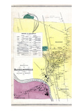 1869, Danielsonville Borough, Killingly, Brooklyn, Connecticut, United States Giclee Print