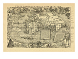 1555, World Giclee Print
