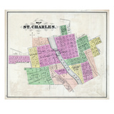 1871, St. Charles, Illinois, United States Giclee Print