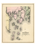 1884, Boothbay, Maine, United States Giclee Print