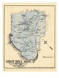 1878, Prince George County - District 12 - Oxen Hill, Grimesville, District of Columbia, USA Giclee Print