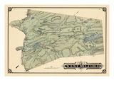 1877, West Milford Township, Charlotteburg, Oakridge, West Milford, New Foundland, New Jersey, USA Giclee Print