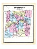 1869, Royalton, Vermont, United States Giclee Print