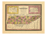 1846, Tennessee Giclee Print