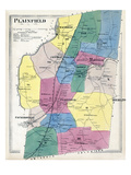 1869, Plainfield, Connecticut, United States Giclee Print