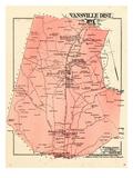 1878, Prince George County - District 1- Vansville, Muirkirk, Vansville, Beltsville Giclee Print