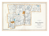 1893, Tolland County - North Part, Connecticut, United States Giclee Print