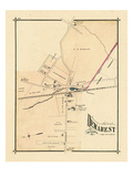 1876, Demarest, New Jersey, United States Giclee Print