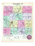 1887, Wilson County, Kansas, United States Giclee Print