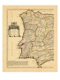1711, Portugal, Spain Giclee Print