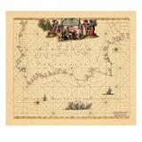 1675, Portugal, Spain Giclee Print