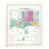 1872, Waverly, Illinois, United States Giclee Print