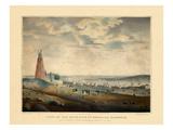 1830, Portland Harbour, Maine Giclee Print