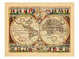 1670, World Giclee Print
