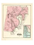 1879, Rome, Belgrade Mills, Maine, United States Giclee Print
